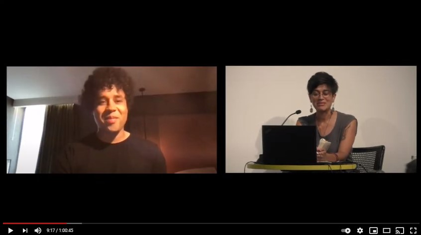 Reading by Johny Pitts and conversation with Ana Sobral