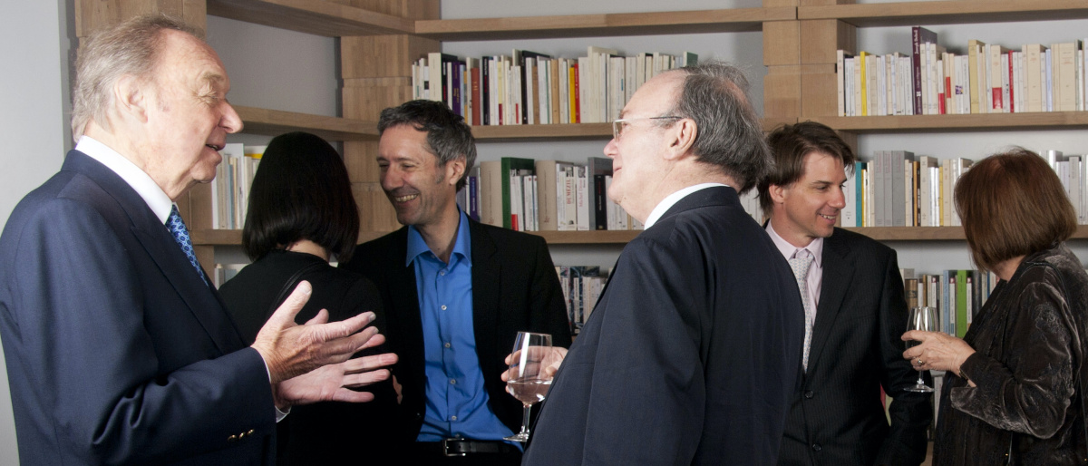 Remise du Prix Européen de l'Essai à Harald Weinrich, 2014